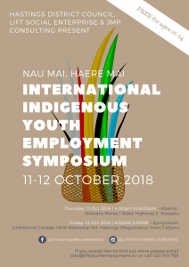 International Indigenous Youth Employment Symposium | LIFT Youth Employment, Hawkes Bay, New Zealand | LIFT Social Enterprise