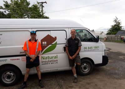 Thanks to Natural Insulation for being a great employer to James